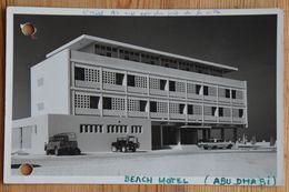 Abu Dhabi - Beach Hotel - Annotations Et Perforations - Photo Papier Gevaert - (n°18155) - Ver. Arab. Emirate