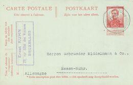 BELGIUM. POSTAL STATIONARY. 1913 - Stamped Stationery