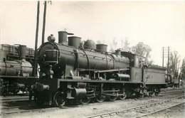 190720 - PHOTO VILAIN - CHEMIN DE FER TRAIN GARE - 24 PERIGUEUX 140C086 Loco - Périgueux