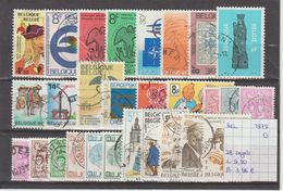 België 1979 - 28 Zegels Gest./obl./used - Usati