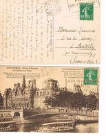 8 OBLITERATIONS JEUX OLYMPIQUES 1924 - RUE JOUFFROY - PLACE CHOPIN - - Estate 1924: Paris