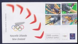 New Zealand FDC 2000 Sydney Olympic Games (NB**LAR9-150) - Summer 2000: Sydney