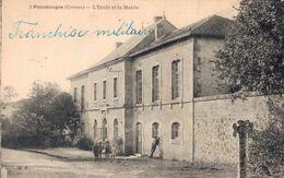 23 3 POUSSANGE L'Ecole Et La Mairie - Other Municipalities