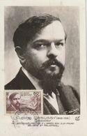 Carte Maximum -  Claude Debussy - Pour Les Chomeurs Intellectuels - Brieven En Documenten