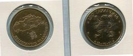 Penning - Token - Buiten Reeks - 1981 Zelfstandig Vlaanderen - 100 Taxandria - Nr E8 (96)  Brons Gepatineerd - Tokens Of Communes