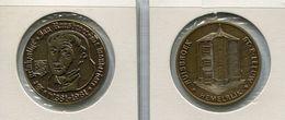 Medaille  - 1981Ruisbroek - ( St. P. Leeuw) - Jan Ruusbroeck - Nr B4   Brons Gepatineerd - Tokens Of Communes