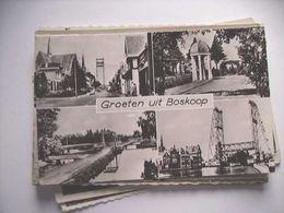 Nederland Holland Pays Bas Boskoop Met Fraai 4-Luik - Boskoop