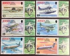 Jersey 2003 History Of Aviation Aircraft MNH - Jersey