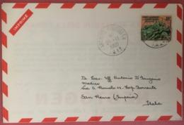 TERRES AUSTRALES ET ANTARCTIQUE FRANCAISES - COVER TO ITALY 1960 - Briefmarken
