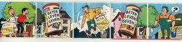 AUTOCOLLANT . STICKER .TOMBOLA TICKET 1980. BETER  LEVEN GEVEN . BOB & BOBETTE . SUSKE & WISKE . ACTIE BOEMERANG . - Stickers