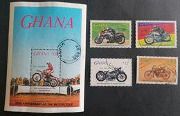 Ghana 1985 Motorcycle Cebt. USED POSTAGE EXTRA - Ghana (1957-...)