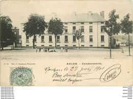 WW ARLON. Enfants Devant La Gendarmerie 1906 Minuscules Défauts.. - Arlon