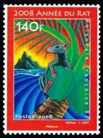 POLYNESIE 2008 - Yv. 828 ** TB  Faciale= 1,18 EUR - Année Lunaire Chinoise Du Rat  ..Réf.POL25293 - Polinesia Francesa