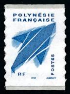 POLYNESIE 2004 - Yv. 736A ** TB  Cote= 5,00 EUR - Autocollant Poisson Volant ITVF Sans Mill. Bleu  ..Réf.POL25290 - Polinesia Francesa