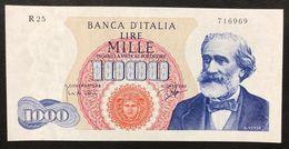 1000 Lire Verdi I° Tipo 14 01 1964 Raro Spl/sup Naturale LOTTO 576 - 10000 Lire