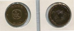 1981 Mechelen - N.C.O.V.   100 Griffels  - Token - Penning - Méraux De Communes - Nr 99 Brons Gepatineerd - Gemeindemünzmarken