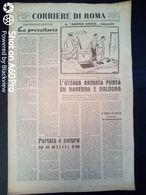 FASCISMO - CORRIERE DI ROMA N° 111 -  24 SETTEMBRE 1944 - L'VIIIa ARMATA PUNTA SU RAVENNA E BOLOGNA - Guerre 1939-45