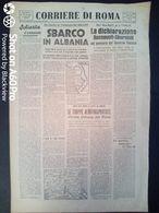 FASCISMO - CORRIERE DI ROMA N° 115 -  28 SETTEMBRE 1944 - SBARCO IN ALBANIA - LONDRA HA SCONFITTO HITLER - Guerre 1939-45
