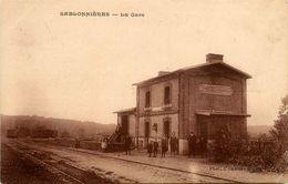 Sablonnières * La Gare * Ligne Chemin De Fer Seine Et Marne - Francia