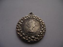 United Kingdom Great Britain - Elisabeth II - 1966 - Medal Medaille Medallion - Half Penny Coin 38 Mm Diameter - Monetari/ Di Necessità