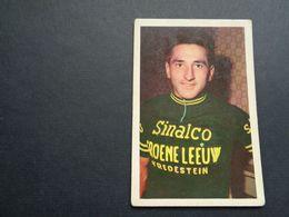Chromo ( 1391 ) ( 9 X 6 Cm )  Cycliste  Coureur  Wielrenner  Renner  Cycliste :  Frans Demulder  Kruishoutem - Cyclisme