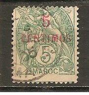 Marruecos Francés Yvert 11a (usado) (o) (defectuoso) - Gebraucht