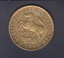 Dt. Reich Westphalen Notgeld 10000 Mark 1923 - Deutschland