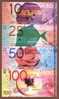 BUENO CHINI Set 4 Pcs 2020 Polymer UNC - Billets