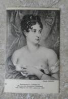 CPA  Portrait En Buste Décolleté Sein Nu De Mademoiselle Georges Marguerite Josephine Wemmer  - Née à Bayeux En 1787 - Malerei & Gemälde