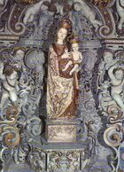 Cartolina Maria Ss.di Gibilmanna - Non Viaggiata - Vergine Maria E Madonne