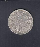 Dt. Reich 1 Mark 1908 A - [ 2] 1871-1918: Deutsches Kaiserreich