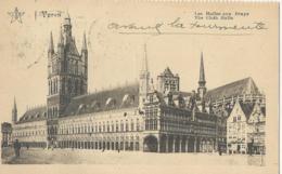 Ieper - Ypres - Les Halles Aux Draps - The Cloth Halls - 1925 - Ieper