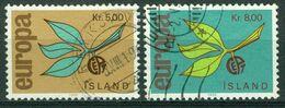 Bm Iceland 1965 MiNr 395-396 Used   Europa Cept - 1944-... Republique
