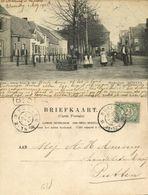 Nederland, NIJKERK, Marktplein Met Volk (1905) Ansichtkaart - Netherlands