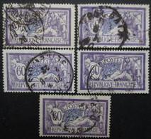 FRANCE N°144 X 5 Oblitéré - Collections