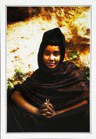 MAURITANIE   -  Oasis  De Tergit  - Type Femme  Woman   Années  1980s - Mauritania