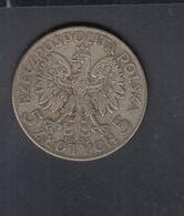 Polen Poland 5 Zloty 1933 - Polen