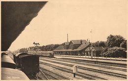 Nederland, OSS, Station Met Trein (1930s) SPARO Ansichtkaart - Oss