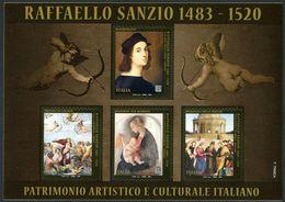 ITALIA 2020: 500° ANNIVERSARIO DELLA MORTE DI RAFFAELLO SANZIO - 6. 1946-.. República