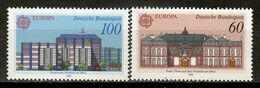 Germany 1990 Alemania / Postal Architecture Europa CEPT MNH Arquitectura Postal Architektur / La02  18-49 - Europa-CEPT