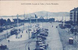 ESPAGNE SANTANDER Avenida De Galan Y Garcia Hernadez , Navire à Quai - Cantabria (Santander)
