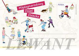 POLAND Postcard 2020.06.01. Cp 1891 International Children's Day - Children's Games - Stamped Stationery