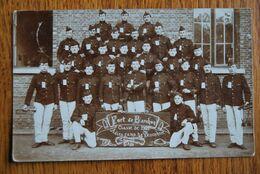 """3162/Fort De Barchon 1909   """"Adieu Au Camp De Brasschaet"""" - Kasernen"""