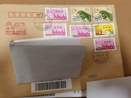 Entire   Cover: Macau Macao Cover With 2020 COVID -19  Commemorative Seal, ATM Stamps, Send To China Mainland - 1999-... Regione Amministrativa Speciale Della Cina