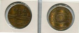 1982 Antwerpen - 100 Mercator - Token - Penning - Méraux De Communes - Nr 119 Brons Gepatineerd - Gemeindemünzmarken