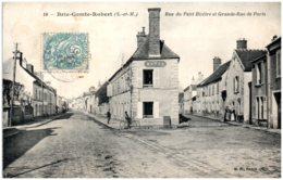 77 BRIE-COMTE-ROBERT - Rue Du Petit Bicêtre Et Grande-rue De Paris - Brie Comte Robert