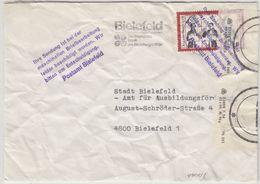 BRD - Ortsbrief Bielefeld 1976, Masch. Beschädigt/Hinweisstempel !! - Deutschland
