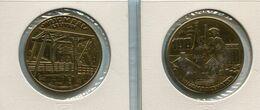 1981 Wijgmaal Leuven - 100 Wijgmalenaren - Token - Penning - Méraux De Communes - Nr 112  Brons Gepatineerd - Gemeindemünzmarken