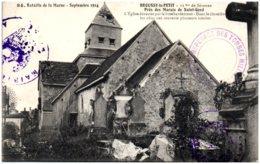51 BROUSSY-le-PETIT - L'église - Autres Communes
