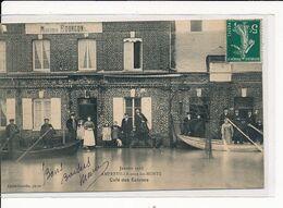 AMFREVILLE-sous-les-MONTS : Café Des Ecluses - Très Bon état - Autres Communes